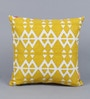 Multicolour Cotton 16 x 16 Inch Geometric Patterns Cushion Cover by Solaj