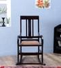 Somerville Rocking Chair in Warm Chestnut Finish by Amberville