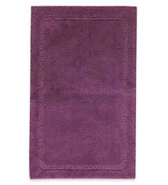 Spaces Amethyst 100% Cotton 20 X 31 Inch Elan Large Bath Mat