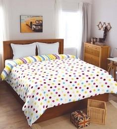 Spaces Yellow 100% Cotton 82 X 96 Inch Spaces Dohar Double Dohar