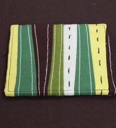 Spiral Kitchen Camo Style Patch Multicolour Cotton Coasters - Set Of 6