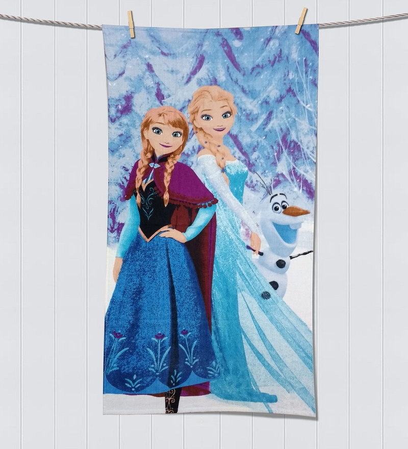 Disney Frozen Lavender Bath Towel by Spaces