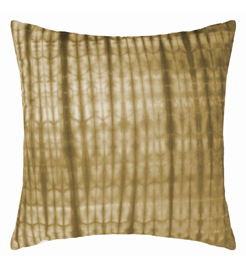 Spaces Peach 100% Cotton 16 x 16 Inch Spun Terra Cushion Cover