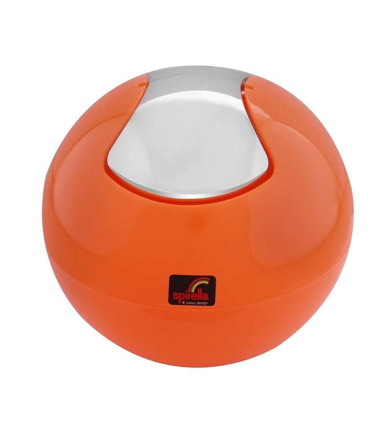 Spirella Swiss Design Orange 1 L Mini Thrash Bin