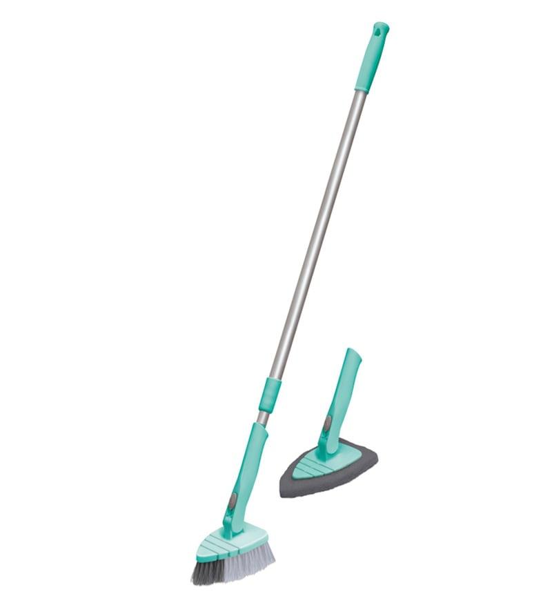 Spotzero 180 Degree Movement Scrubber & Brush with Extendable & Detachable Handle