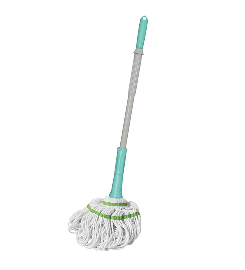 Spotzero from Milton Aqua Green Twist & Squeeze Cotton Mop