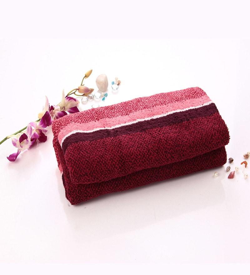 Lasa Orange Cotton Bath Towel by Spread