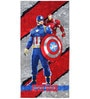 Marvel Civil Wars Red Bath Towel by Spaces