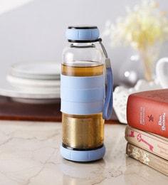 Ss Silverware Green Tea Bottle With A Bottom Infuser Cum Filter - 1638406