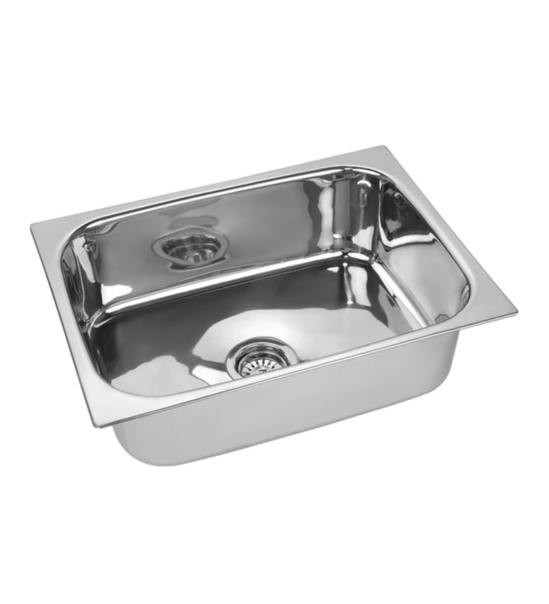 SS Silverware Stainless Steel Single Bowl Kitchen Sink - SS-KI-SI