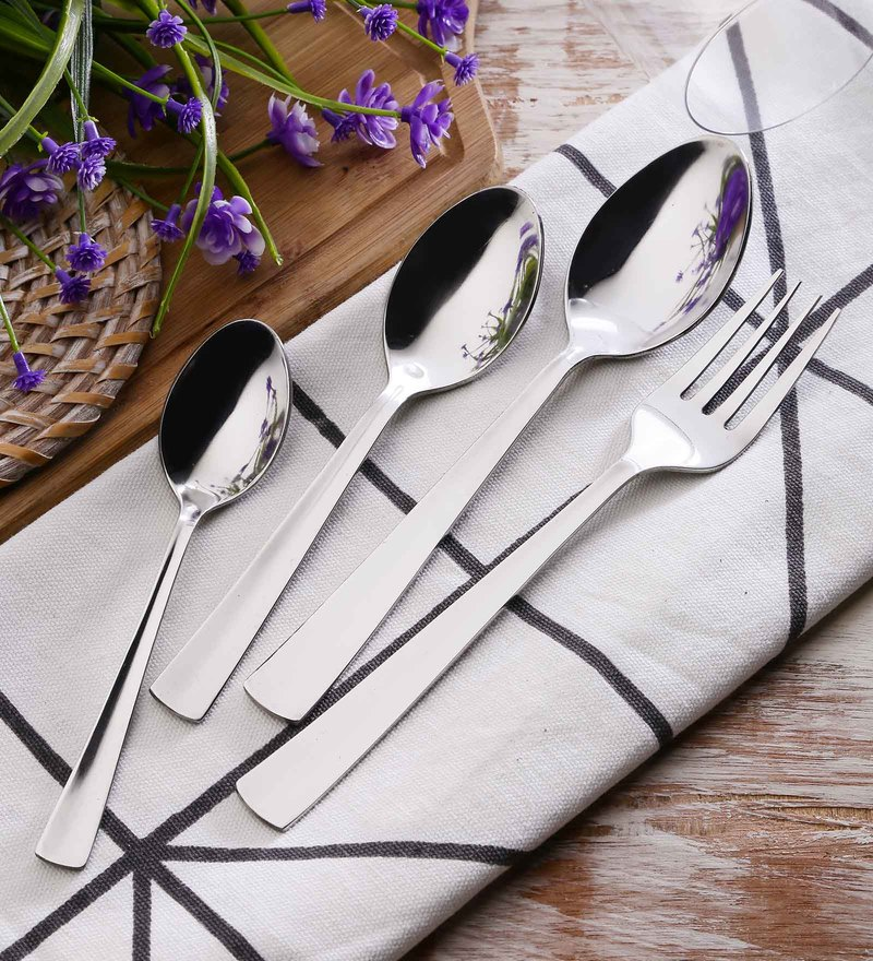 SS Silverware Heavy Ultimo Design Stainless Steel Cutlery Sets Set of 25