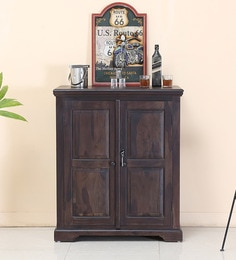 Stanfield Bar Cabinet In Warm Chestnut Finish