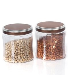 Steelo Transparent 1500 Ml Storage Container -Set Of 4