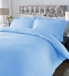 be9bf656bd Striped 220 TC Cotton Sateen King Size Bedsheet with 2 Pillow covers. Add To  Cart