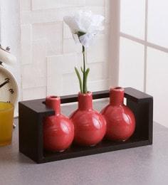82c106b66c1 Flower Vases - Buy Wooden   Metal Flower Glass Vase Online in India ...