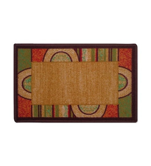 Buy Brown Abstract Pattern Bogo Door Mat by Status at Rs.69