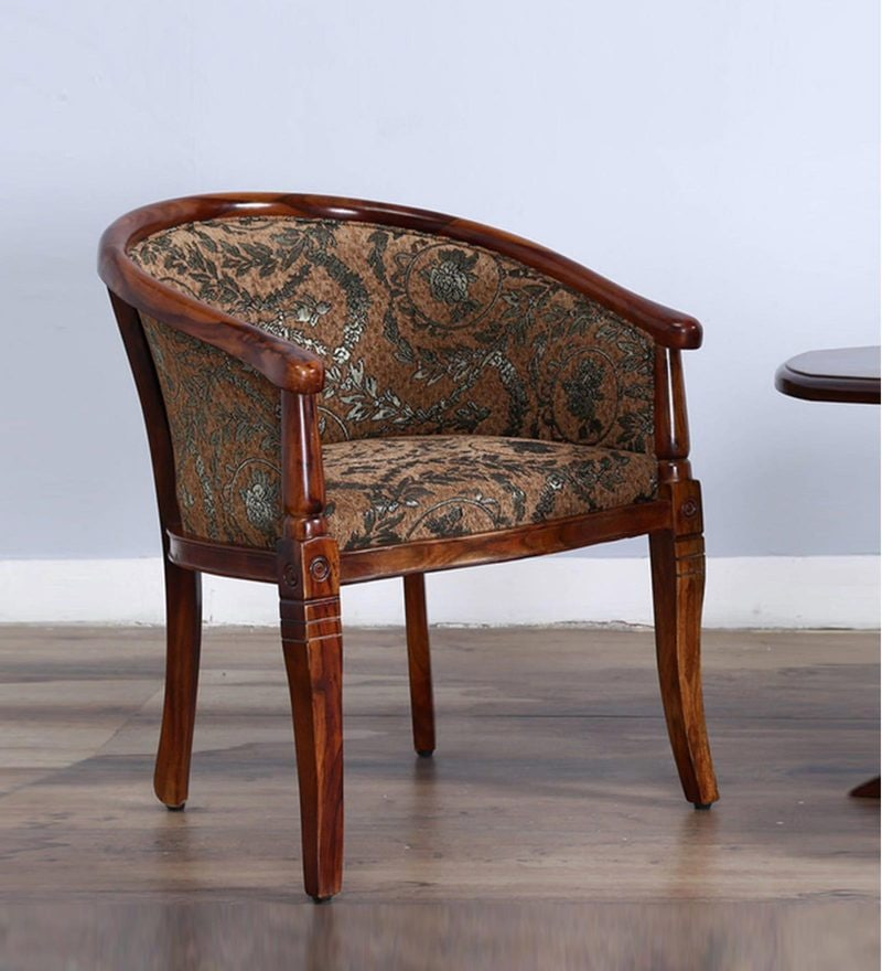 Stalley Arm Chair in Honey Oak Finish by Amberville