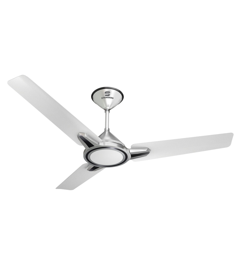 Buy havells standard aspire 1200 mm silver oasis green ceiling fan havells standard ringo 1200 mm pearl white silver ceiling fan aloadofball Images