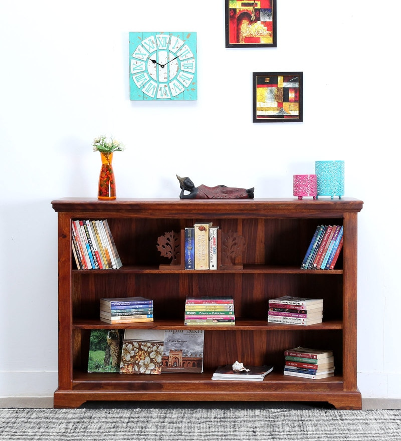 Stanfield Book Shelf in Honey Oak Finish by Amberville