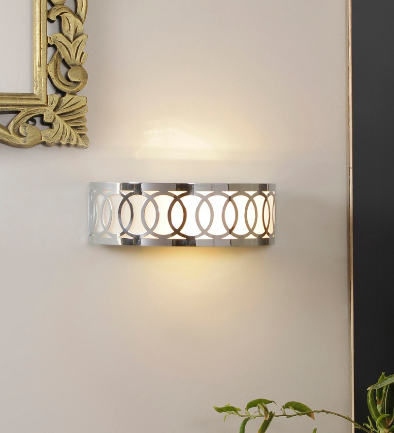 Stanford Steel Drum Wall Lamp by Jainsons Emporio