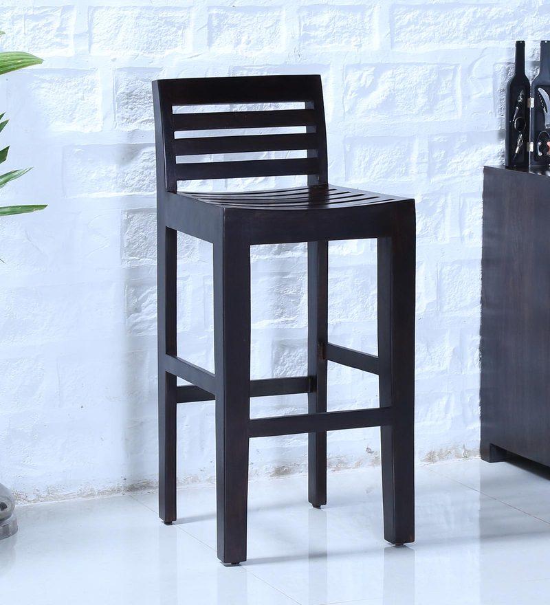 Stigen Bar Chair in Warm Chestnut Finish by Woodsworth