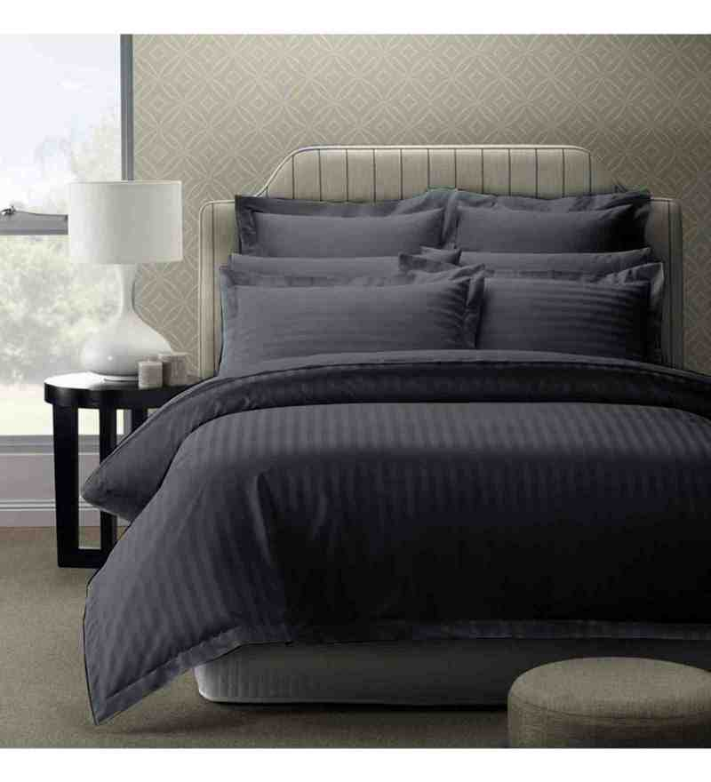 Grey 100% Cotton 108 x 108 Inch Foreverxl Bed Sheet Set by Story@Home