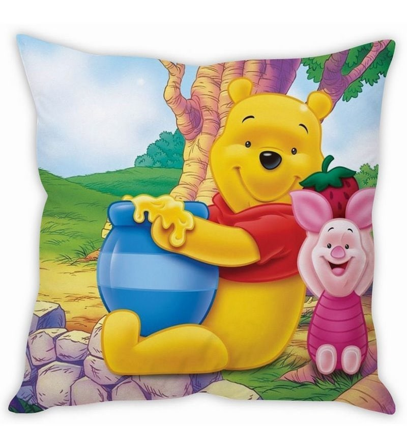 Whiney The Pooh Cushion Cover by Stybuzz