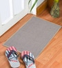Grey & Pink Delure 23 x 15 Inch Door Mat- Set of 2 by Status