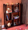 Provincial Teak Wooden Xsona 4 Tier Wall Shelf by La Stella