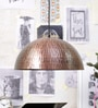 Copper Metal Pendant by Stello