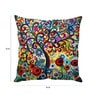 Multicolor Silk 16 x 16 Inch Colour Burst Cushion Cover by Stybuzz