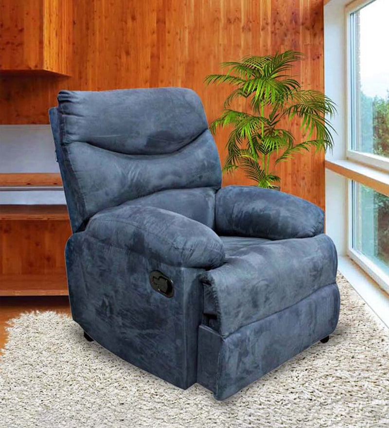 Harbor Town Recliner With Beige Fabric Cover By La Z Boy