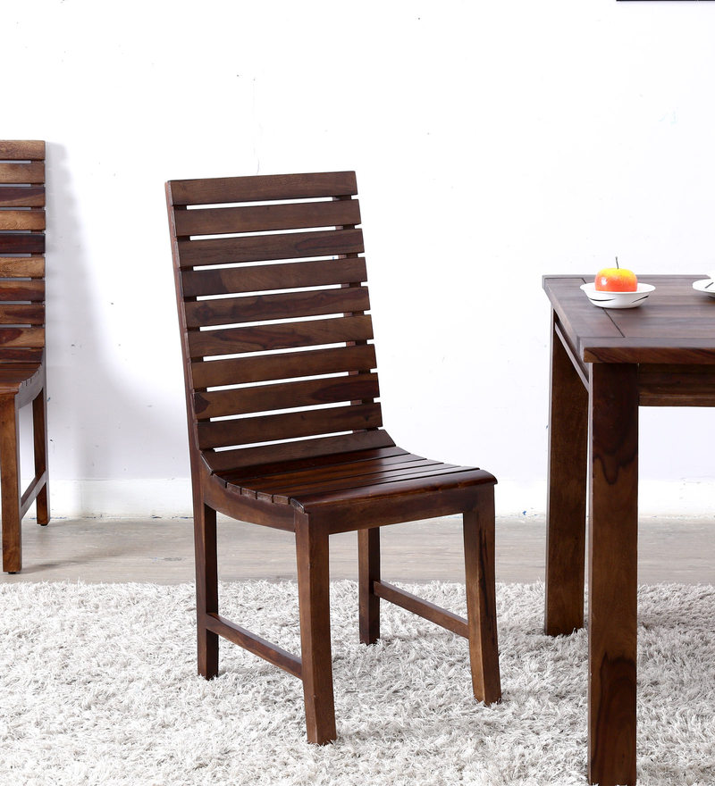 Glen Dining Chair in Provincial Teak Finish by Woodsworth