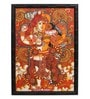 Sublime Galleria Canvas 27 x 1 x 19.5 Inch Kerala Mural  Framed Original Painting