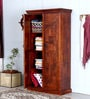 Sumana Handcrafted Wardrobe in Honey Oak Finish by Mudramark