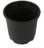 Sunrise 19.5 cm Black Colour Planter Pot by Chhajed Garden