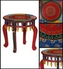 Samranj Hand Painted End Table by Mudramark
