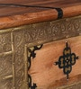 Araka Trunk with Brass Repousse Work by Mudramark