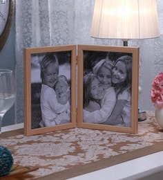 SViRU Beige Synthetic And Glass Collage Photo Frame - 1587893