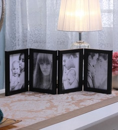 SViRU Black Synthetic And Glass Collage Photo Frame - 1587896