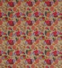 Swastika Brown & Pink Cotton Queen Size Bed Sheet with 2 Pillow Covers