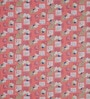 Swastika Pink Cotton Queen Size Bed Sheet with 2 Pillow Covers