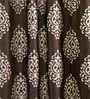Brown & Beige Cotton 83 x 47 Inch Ethnic Door Curtain - Set of 2 by SWHF