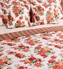 White Cotton Queen Size Comforter - Set of 5 by SWHF