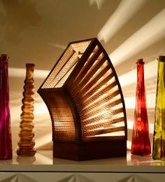 Sylvn Studio Beige Brown Rondeur Table Lamp