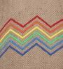 Brown Corrugated Cardboard Vibgyor Pendent by Sylvn Studio