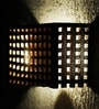 Metal Lattice Wall Mounted Lamp by Sylvn Studio