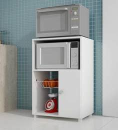 Takeko Kitchen Cabinet In White Finish