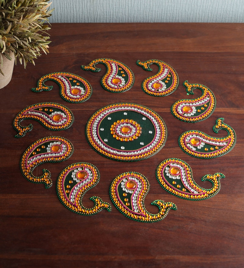 Multicolour Rangoli by Tanariri Hastakala