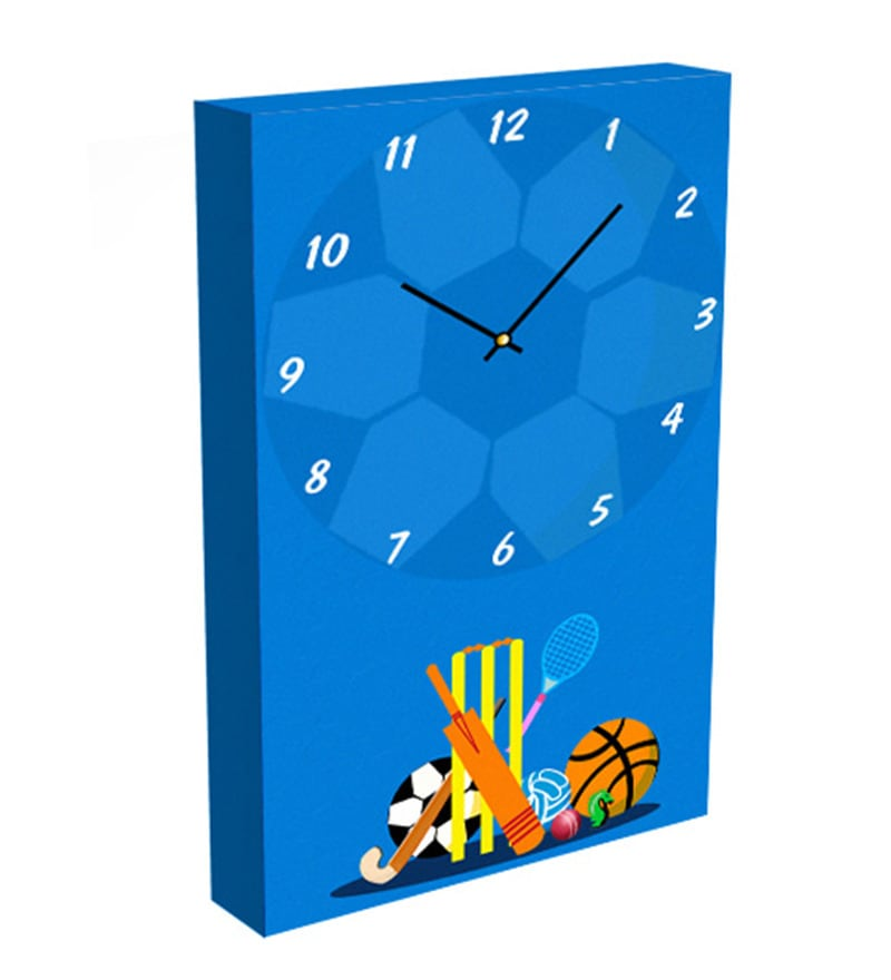 All Sports Vertical Wall Clock by MimaArt